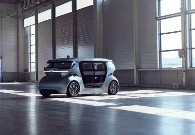 Un robot-taxi se dirige vers l'avenir. Le projet Sango.