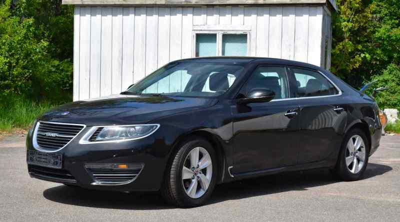 For sale in Sweden, possibly the oldest Saab 9-5 NG