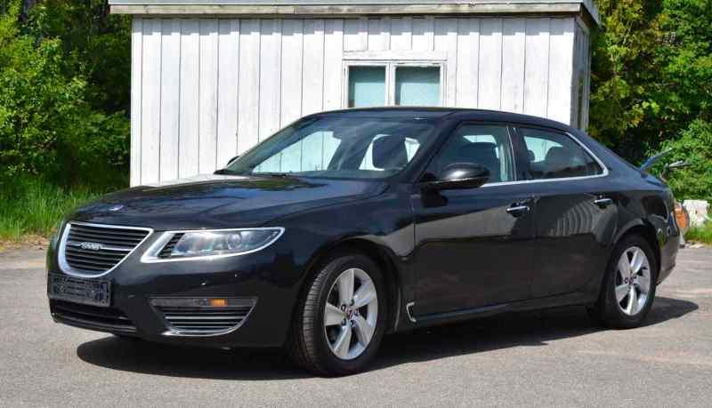 Till salu i Sverige, kanske den äldsta Saab 9-5 NG