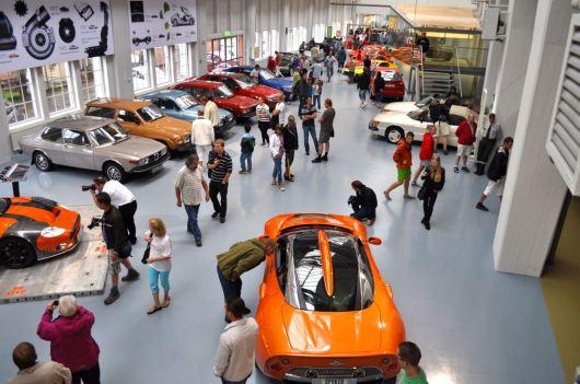 Museu Saab com convidados Spyker