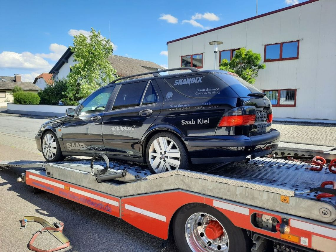 Project Paul reist met de transporter