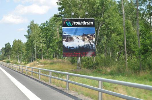 Willkommen in Trollhättan