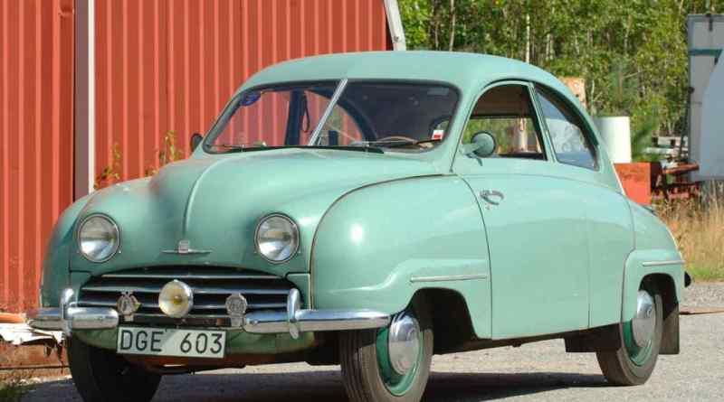 Ein Fahrzeug der Vorserie, in Handarbeit hergestellt