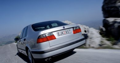 The young sporty savage - Saab 9-5 in the secret test