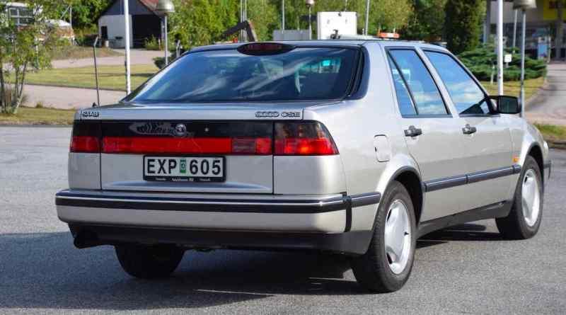 En Saab 9000 CSE auktioneras till ett rekordpris