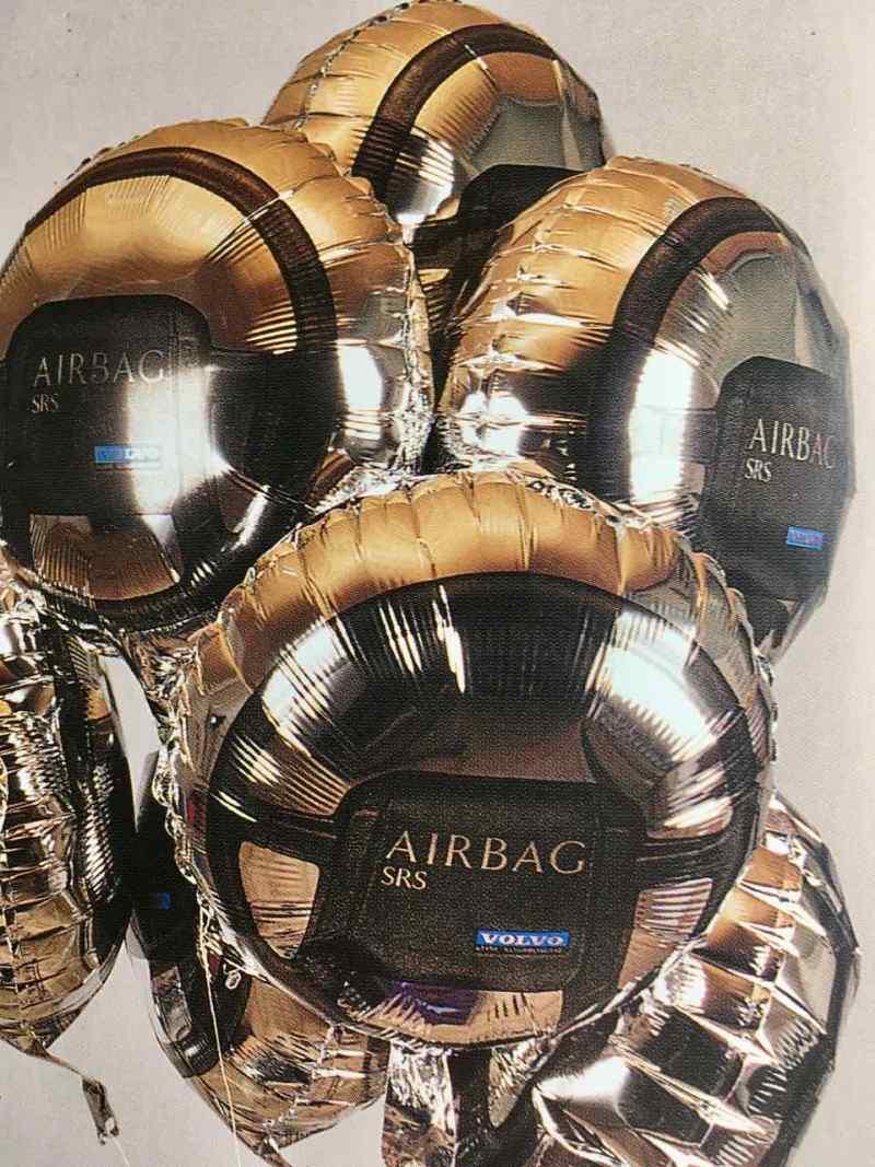 Più di un pallone: pubblicità per l'airbag