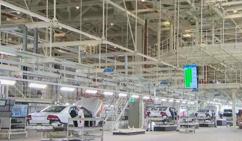 Saab 9-3 Produktion bei Evergrande Auto