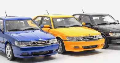 Saab 9-3 Viggen Coupe de DNA Collectibles
