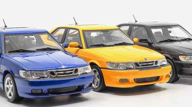 Saab 9-3 Viggen Coupe di DNA Collectibles