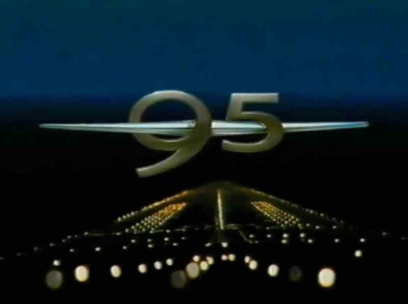 Présentation Saab 9-5 Francfort 1997