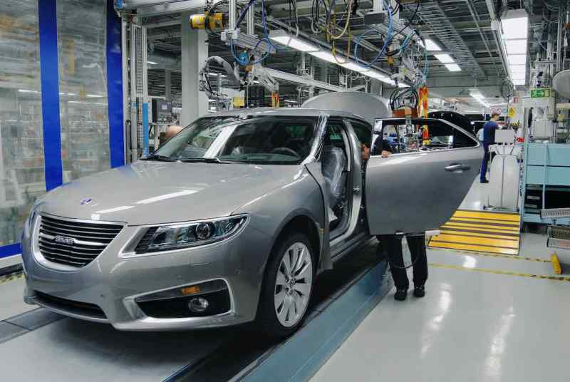 Produktionen av Saab 9-5 slutade våren 2011