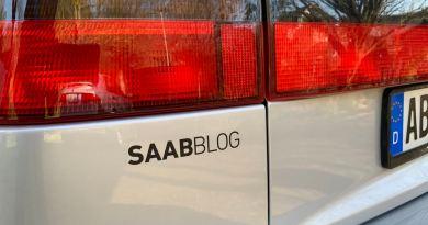 Наклейка Saabblog