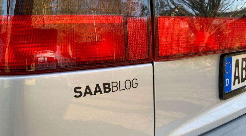 Saabblog Aufkleber
