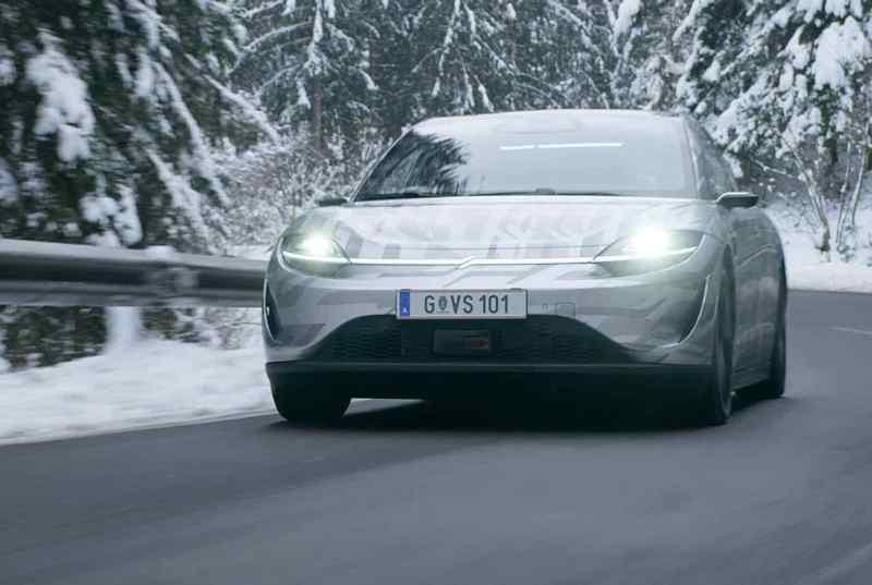 Sony Vision S unterwegs in Österreich