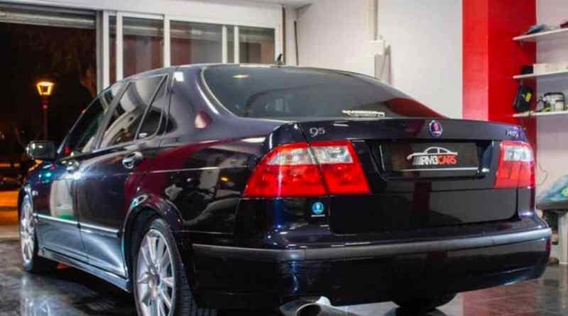 Der Saab ist technisch gut und wurde bei Berma gewartet