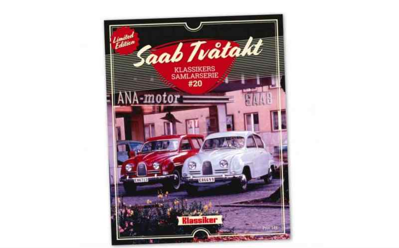La era de los dos tiempos de Saab en un número especial