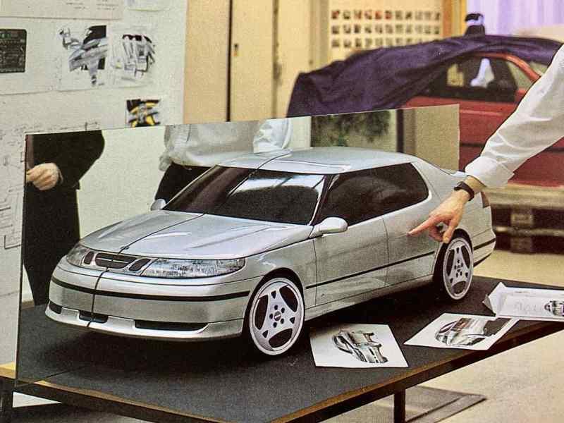 Wer beeinflusste das Design des Saab 9-5 maßgeblich?