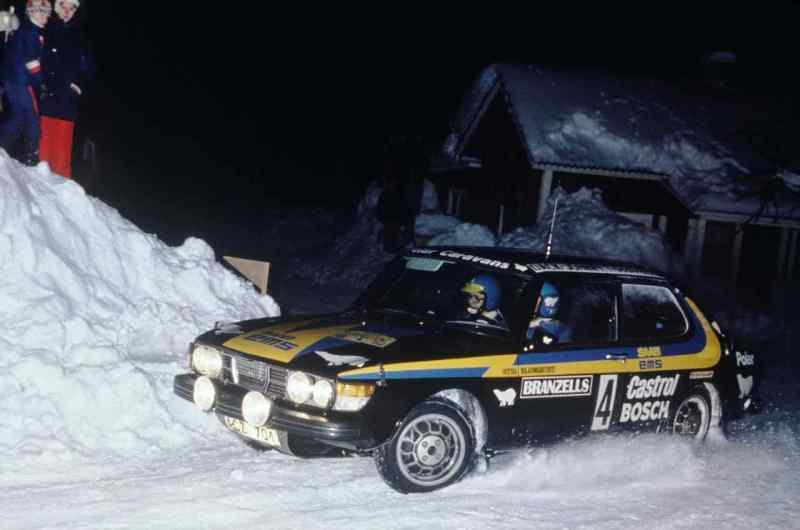 Saab 99 EMS: éxito en los deportes de motor