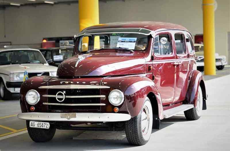 Una rareza: Volvo PV831
