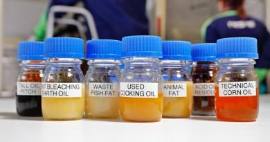 Rohstoffe für nachhaltiges Benzin