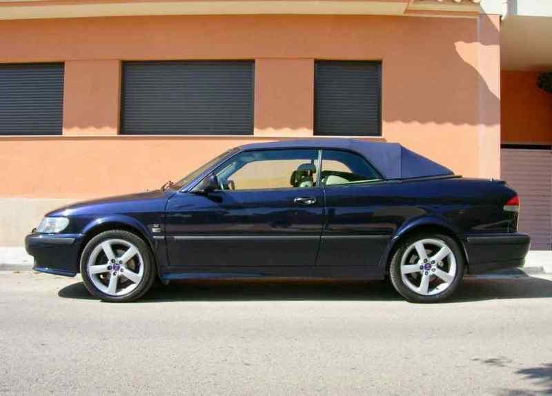 Saab 9-3 årsdag i blått / blått