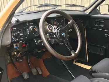 Sportlich - das Cockpit des 96