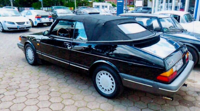 Saab 900 Cabriolet volé