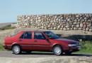 In primo piano: la Saab 9000