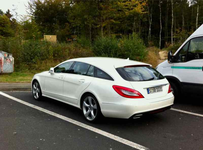 2012 la cosa calda - Mercedes CLS