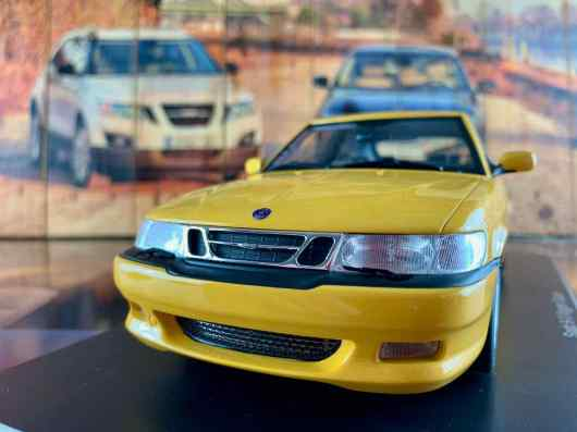 Saab 9-3 Viggen Coupe van DNA Collectibles