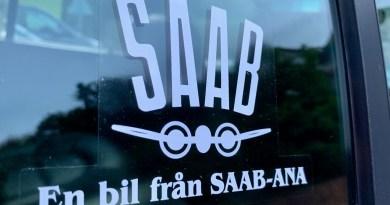 Autocollant Saab-ANA