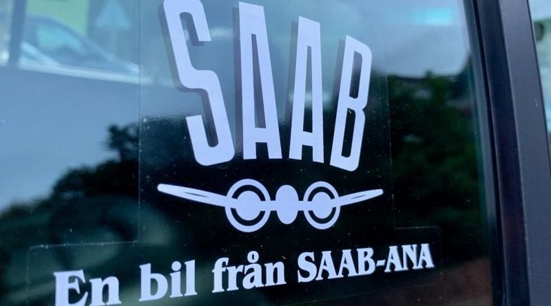 Saab-ANA sticker