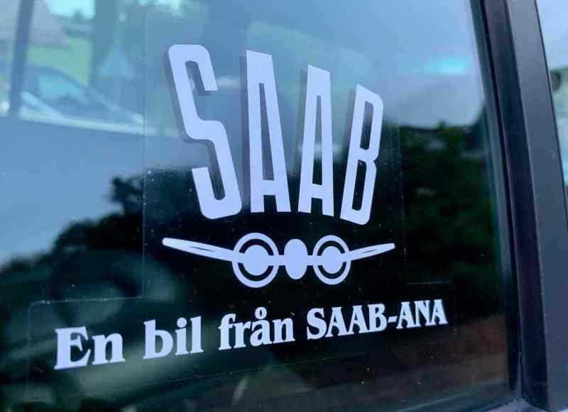 Saab-ANA-klistermärke