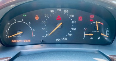 624 kilomètres - une nouvelle voiture