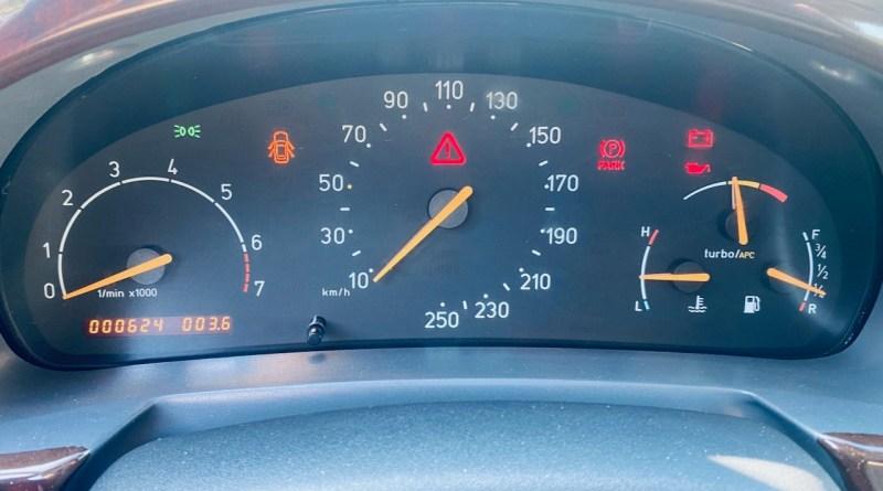 624 chilometri: un'auto nuova