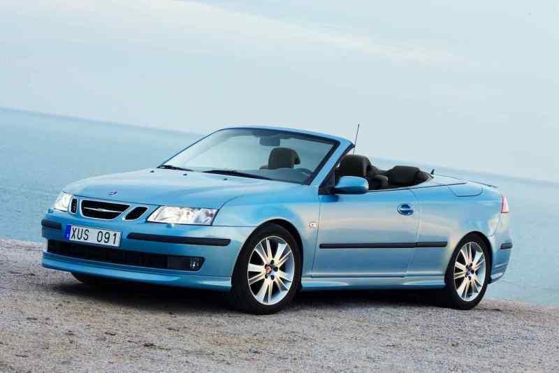 Saab 9-3 Cabriolet antes do facelift são mais baratos