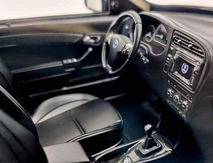 Интерьер Saab Turbo X из ДНК