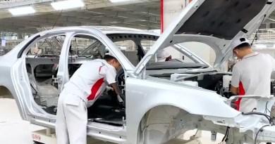 Production test run at Evergrande Auto