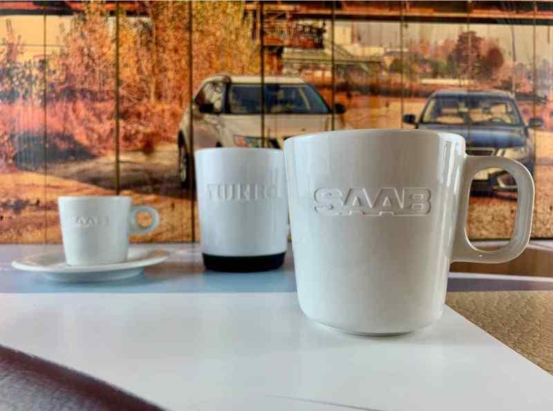 Saab Kaffeetasse (Classic Edition)