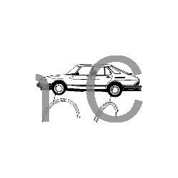 Trim moulding, Wheel arch '87-'91, SAAB 900
