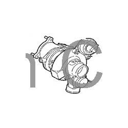 Bypass valve, Turbo B207R, SAAB 9-3