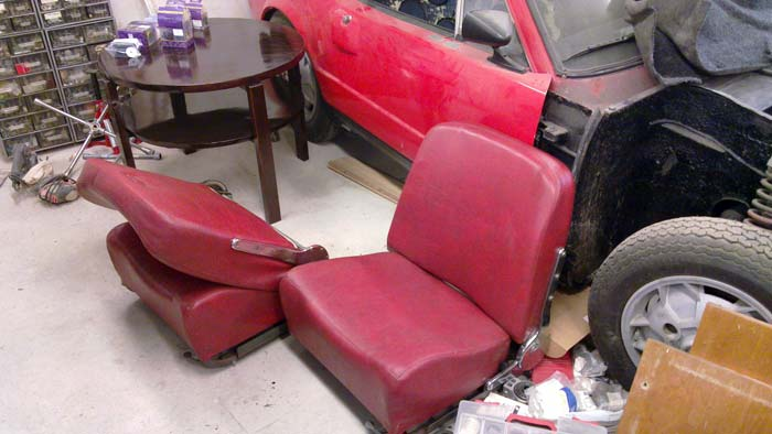 I also took the Sport seats to a refurbisher.