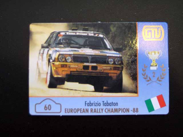 60.Fabrizio-Tabaton-Lancia-Delta-Integrale - SOLD OUT -