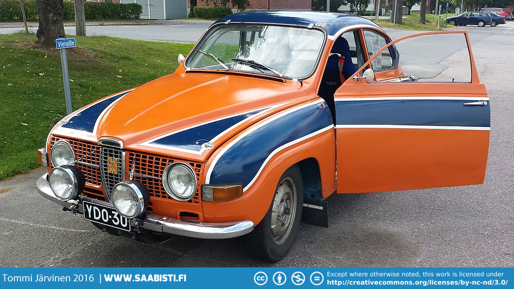 1969 Saab 96 V4 Rally  – track day car