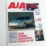 AJA 1 1990. 3 €.
