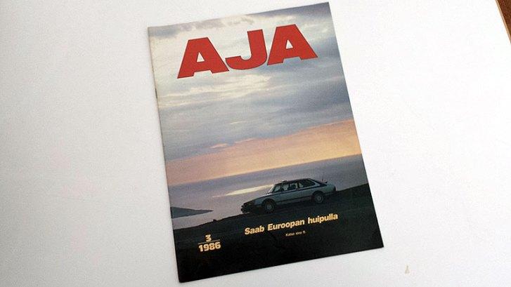 AJA 3 1986. 4 €.