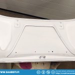 The interior of the car is white so I painted the trunk lid underside white.