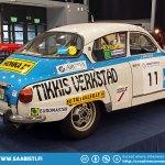 Ex-Works Saab 96 Rally.