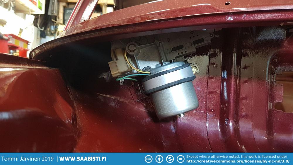 Wiper mechanism and heater overhaul