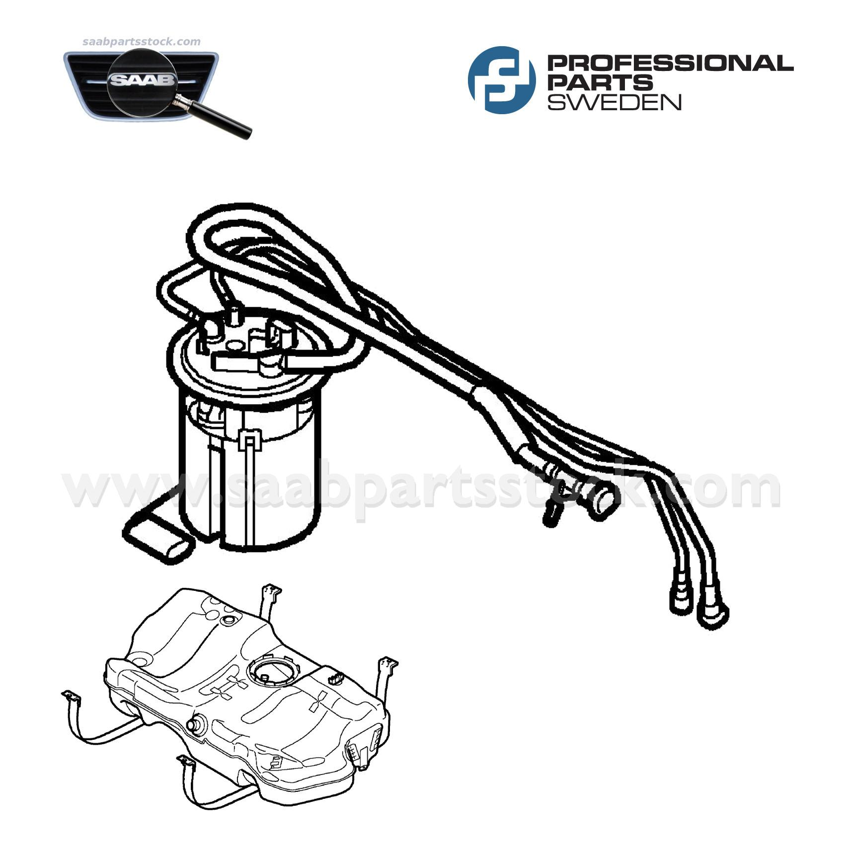 Fuel Pump, Complete For Petrol Engine (BioPower)